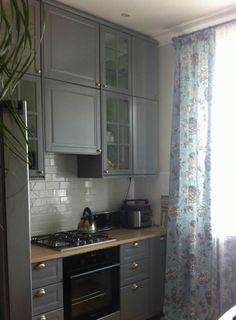 New Kitchen, Kitchen Decor, Compact Living, Modern Farmhouse Kitchens, Kitchenette, Apartment Design, Kitchen Remodel, Kitchen Design, Interior Decorating