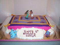 Aladdin Magic Carpet Cake — Children's Birthday Cakes
