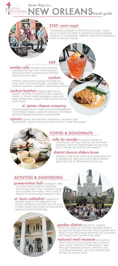 Three Days in New Orleans | travel guide | the little epicurean