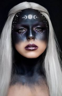 modern witch 13 Witch Makeup Looks Bewitching It Girls Are Wearing This Halloween Makeup Trends, Makeup Ideas, Nail Ideas, Makeup Tips, Halloween Makeup Witch, Halloween Halloween, Goddess Halloween Costume, Vintage Halloween, Vintage Witch