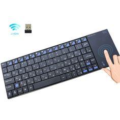 i12plus Wireless Keyboard Touchpad RU-ES-FR-EN //Price: $39.14 & FREE Shipping // #lifestyle #amazing #furniture