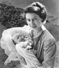 HRH The Princess Elizabeth, Duchess of Edinburgh (later Queen Elizabeth II) with her second child, Princess Anne Die Queen, Hm The Queen, Royal Queen, Her Majesty The Queen, Princess Elizabeth, Princess Margaret, Queen Elizabeth Ii, Elizabeth Anne, Windsor