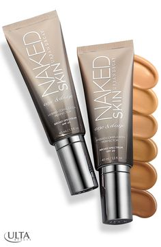 Urban Decay's One & Done Hybrid Complexion Perfector at Ulta Beauty is all you need for easy morning makeup. It not only provides sheer coverage, it transforms the look of your skin. It blurs imperfections, evens out skin tone & acts as a treatment to firm & give it a radiant glow. This beauty multi-tasker really lives up to its name.