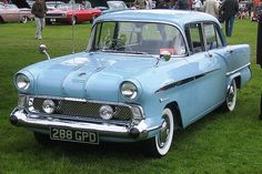 | Vauxhall Victor FA 1958 | 1958 Vauxhall Victor FA 1.5L 4 cylinder OHV Engine (photo Charles01)