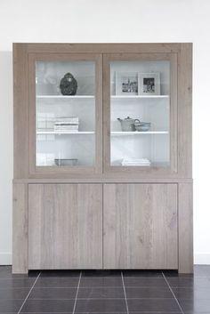 vitrinekast, winkelkast, glaskast, kast modern, kast enjoy, by House