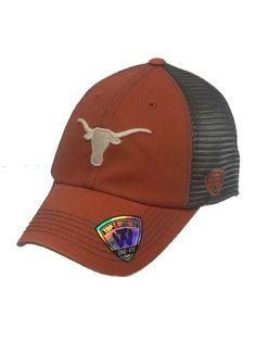 Texas Longhorns TOW Orange Gray Crossroads Mesh Backed Flexfit Hat Cap