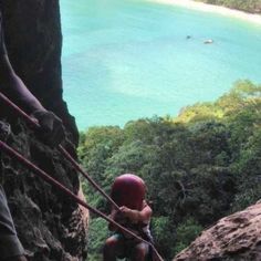 Real Rocks has been teaching climbers around the world for over 14 years. Railay beach climbing tours, Krabi, Thailand. Climbing and caving tours every day, with pick up Ao Nang included!