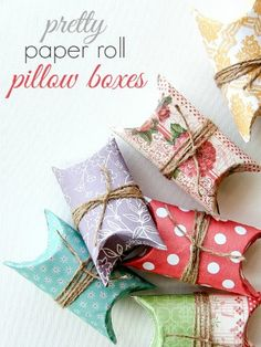 Toilet Paper Rolls #wrappingideas #christmasdiy