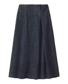 Women's Long Denim Skirt