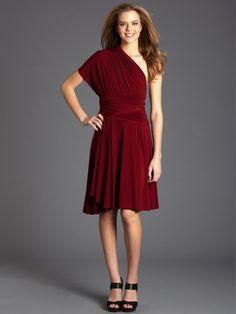 Von Vonni - Von Vonni Transformer Dress - Red Square, Short