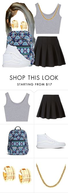 """""""."""" by trillest-queen ❤ liked on Polyvore featuring Alexander Wang, Vera Bradley, Vans, Bulgari, women's clothing, women, female, woman, misses and juniors"""