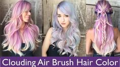 Clouding Air Brush Hair Color using @goldwell