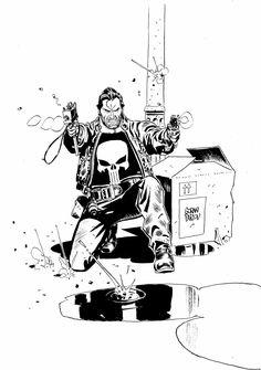 The Punisher by Goran Parlov