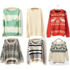 Oversized sweaters, must have