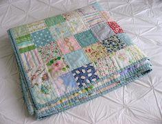lots of vintage sheets allison gryski quilt