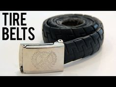 How to Make a Belt out of a BMX Tire - YouTube (Warning Talks to much)