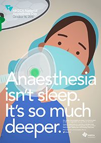 National Anaesthesia Day - ANZCA Anzac Day, Medical College, Med School, Clinic, Career, Medicine, October, Carrera, Freshman Year