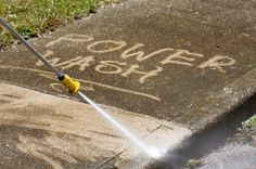 Quick Power Washing Improves Business Property