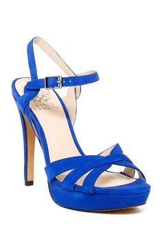 Jessamae High Heel Platform Sandal by Vince Camuto on @HauteLook