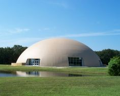 Image: Thousand Oaks Gym in Texas. Source: The Monolithic Dome Institute.