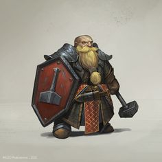 Dungeons And Dragons Characters, D D Characters, Fantasy Characters, Dwarf Paladin, Cleric, The Elder Scrolls, Fantasy Dwarf, Fantasy Rpg, Fantasy Races