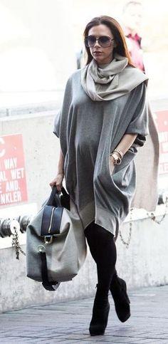 Victoria Beckham Style Inspiration | Celebrity Maternity Style Pregnant Fashion Inspiration | British Vogue