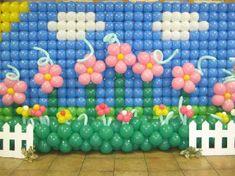 PAINEL DE Balões SHOPPING GRANDE