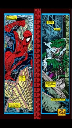 The Lizard - Spiderman #1 by Todd McFarlane