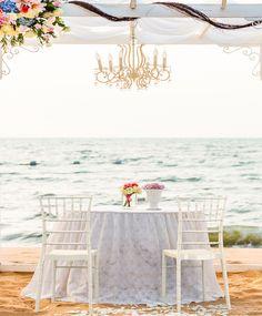 Krzesło Siesta Chiavari #wedding #sea #white #chair #cauple #hagea