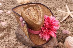 Cowboy (strand) Ibiza hoed Roze 1314006 - Ibizahoed.nl