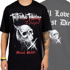 OFFICIAL ~ TWITCHING TONGUES All Love Must Die t-shirt