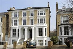 5 bedroom semi-detached house for sale in The Chase, Clapham, London, London Townhouse, London House, Semi Detached, Detached House, Beautiful Buildings, Beautiful Homes, London Architecture, Decoration, Exterior Design