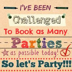 Scentsy family! I've been challenged to do a booking blitz! Book a party with me! https://klirakis.scentsy.us