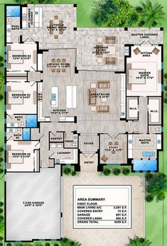 House layout design floor plans bedrooms ideas for 2019 House Plans One Story, Ranch House Plans, Dream House Plans, House Floor Plans, Dream Houses, Cat Houses, Mansion Plans, Master Closet Layout, Bungalow
