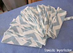 DIY Bay Window Curtain Rod & Back Tab Curtains — Domestic Imperfection