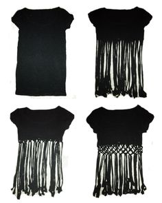 T-Shirt DIY Tutorial, I would so do this for a bathing suite cover up. :)