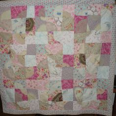#patchwork #quilt Debbie's 50th birthday quilt