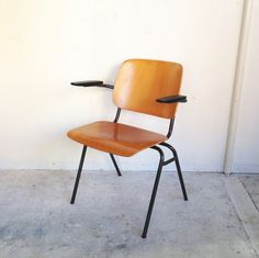 Marko Stacking Arm Chair Holland Industrial Vintage