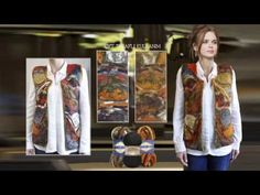 El örgüsünde Alize Country ile mucize işler/Miracle works for hand knitting by Alize Country. - YouTube