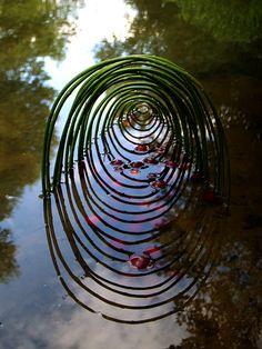 Land Art, Mandala Art, Gaudi, Environmental Sculpture, Ephemeral Art, Art Prints For Home, Forest Art, Outdoor Art, Art Plastique