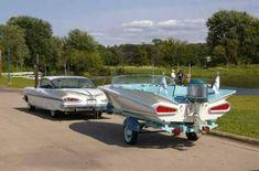 Matching Chevy impala boat