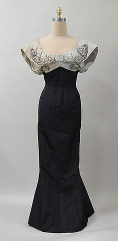 Evening Dress Charles James, 1952-1953 The Metropolitan Museum...