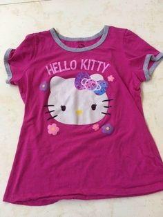 5b5d87af4c4b7 Sanrio Hello Kitty women s hot pink stretchy cotton pajama shirt Size XXL  (19)  fashion  clothing  shoes  accessories  womensclothing  intimatessleep  (ebay ...
