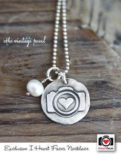 I Heart Faces Hand-Stamped Camera Necklace. So cute!! #photography http://www.iheartfaces.com/2013/08/exclusive-camera-necklace/