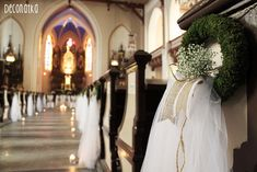 Znalezione obrazy dla zapytania ozdoba kościoła w stylu rustykalnym na ślub