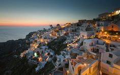 Santorini, Greece by rgower, via Flickr