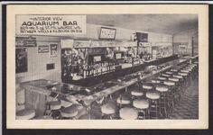 Milwaukee Wi Aquarium Bar Novelty 1940 Postcard   eBay