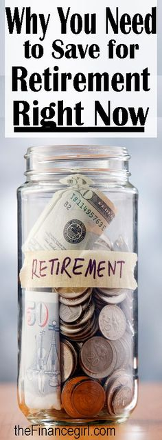 Why you need to start saving for retirement right now | Financegirl