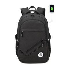 ราคา  Men Backpack Youth Fashion Teenage Backpacks For Teen...