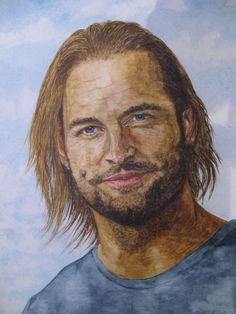 Sawyer 2 gespielt von Josh Holloway in der Serie Lost - Jutta Bachmann
